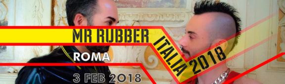 Mr Rubber Italia 2018